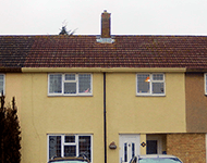 Terraced houses near Borehamwood